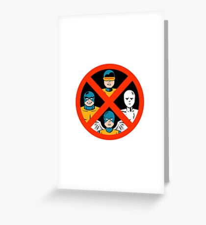 Children of the Atom Greeting Card