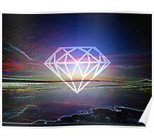 Electric Bay (Single Diamond) Poster