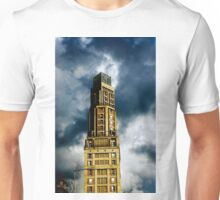 The Perret Tower, Amiens, France (The Candle) Unisex T-Shirt