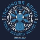 Tachikoma Squad  by pigboom