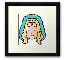 Crystal Maiden Framed Print