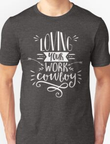 The Man from U.N.C.L.E. - Loving your work, Cowboy Unisex T-Shirt