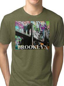 Brooklyn graffiti Tri-blend T-Shirt