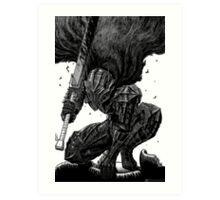 """Guts Berserker Armor - Berserk"" Art Print"
