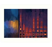 Color Abstraction LII Art Print