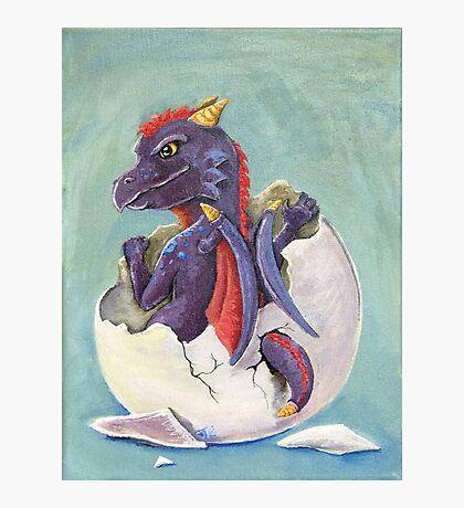 Dragon Hatchling Photographic Print