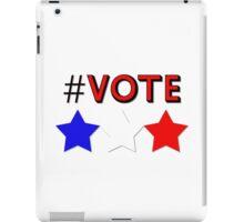 #Vote (Red) iPad Case/Skin