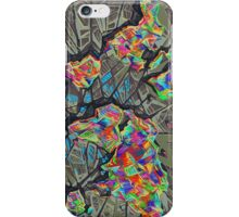 world map abstract iPhone Case/Skin