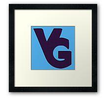 Video Glue Insignia Framed Print