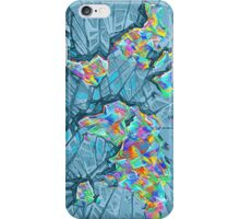 world map abstract 2 iPhone Case/Skin