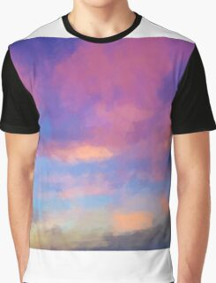 Color Abstraction XLVIII - Sunset Graphic T-Shirt
