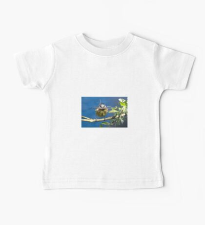 Blue Tit with nesting material 1. Baby Tee