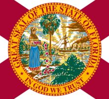 Florida Flag Sticker