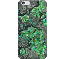 world map abstract 3 iPhone Case/Skin