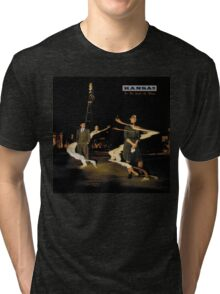 Kansas Band Album Concert Tour 6 Tri-blend T-Shirt
