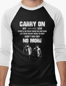 SUPERNATURAL - Carry on my wayward son Men's Baseball ¾ T-Shirt