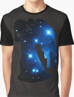 Weeping Angel Galaxy Graphic T-Shirt