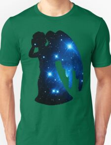 Weeping Angel Galaxy Unisex T-Shirt