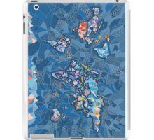 world map geometry 2 iPad Case/Skin