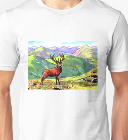 Atop the Purple Hills Unisex T-Shirt