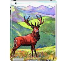 Atop the Purple Hills iPad Case/Skin