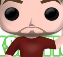 Jacksepticeye Pop! Vinyl Design (Green w/ Headphones) Sticker