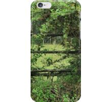 Fence on a Farm iPhone Case/Skin