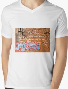 Urban Art (The Writing's on the Wall) Mens V-Neck T-Shirt