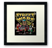 Street Wars Framed Print