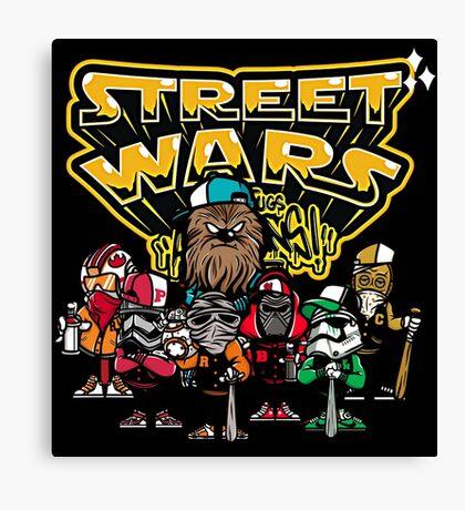 Street Wars Canvas Print