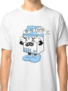 No Use Crying Classic T-Shirt