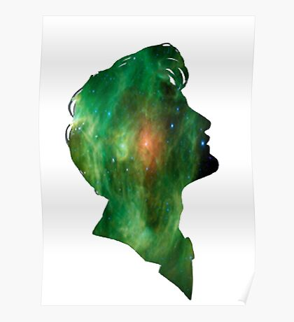 Green galaxy Tenth Doctor Poster