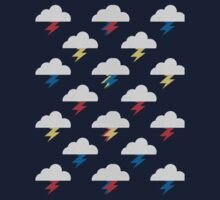 Thunderclouds Kids Tee