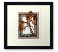 Autumn Willow Tree Framed Print