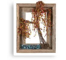 Autumn Willow Tree Canvas Print