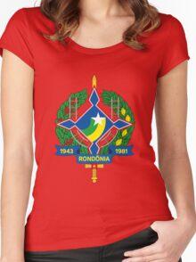 Rondônia (Brazil)-2 Women's Fitted Scoop T-Shirt
