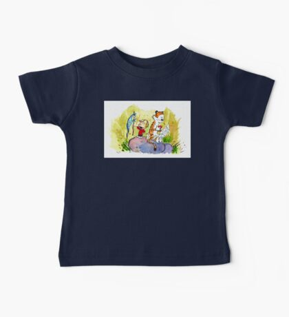 Adventure with Calvin & Hobbes Baby Tee
