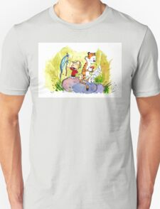 Adventure with Calvin & Hobbes Unisex T-Shirt