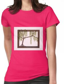 Spring Willow Tree Womens Fitted T-Shirt