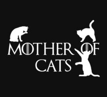 Game of thrones mother of cats Baby Tee