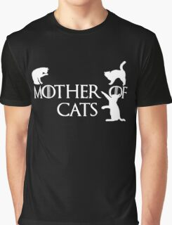 Game of thrones mother of cats Graphic T-Shirt