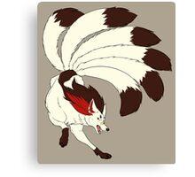 MSA Mystery Kitsune (canon design) Canvas Print