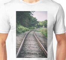 Country Railroad Track Unisex T-Shirt