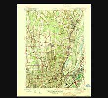USGS TOPO Map Connecticut CT Hartford North 330880 1945 31680 Unisex T-Shirt