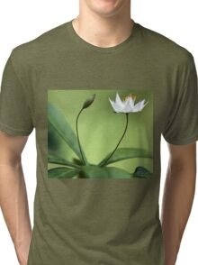 Starflower With New Bud Tri-blend T-Shirt