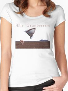 The Cranberries band Concert Tour Album Women's Fitted Scoop T-Shirt