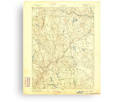 USGS TOPO Map Connecticut CT Gilead 331026 1892 62500 Metal Print