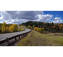 Long and Winding Road - Northern New Mexico Photographic Print