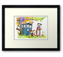 Adventure in Time & Space! Framed Print