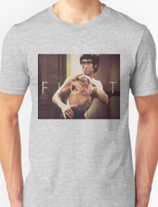 Bruce Lee Fight Unisex T-Shirt